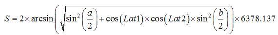 网上给出的计算公式是这样的